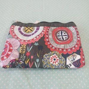 Lesportsac Bags - LesportSac 3 zipper Cosmetic bag NWT